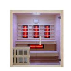 Sauna multifunzione finlandese e infrarossi Bea 180