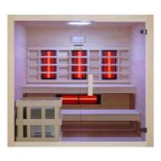 Sauna multifunzione finlandese e infrarossi Bea 200