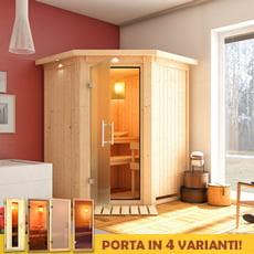 Sauna finlandese Ombretta 68 mm