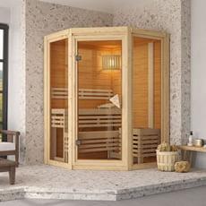 Sauna finlandese Carla in massello 40 mm