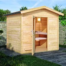 Sauna finlandese da giardino Barbara