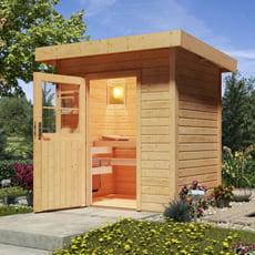 Sauna finlandese da giardino Ivana