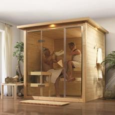 Sauna finlandese Cristina in massello 40mm