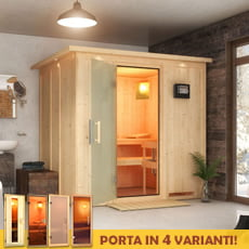 Sauna finlandese Dina 68 mm