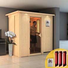 Sauna multifunzione Variado con riscaldatori infrarossi