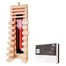 Schienale ergonomico in legno con riscaldatore a infrarossi - SET 1
