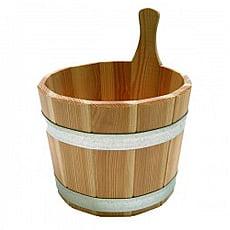 Secchiello in legno per sauna