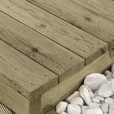 Pavimentazione in legno di pino KDI