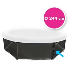 Rete di protezione inferiore per trampolino elastico 244 cm
