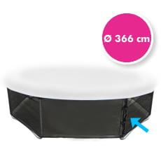 Rete di protezione inferiore per trampolino elastico 366 cm