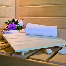 Poggiatesta classico per sauna