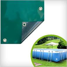 Copertura 4 stagioni per piscine tubolari LAGUNA LARGE 125/140
