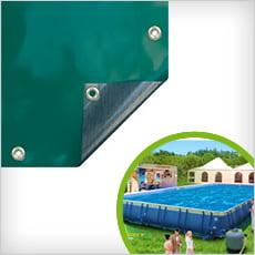 Copertura 4 stagioni per piscine tubolari LAGUNA