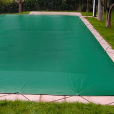 Copertura invernale per piscina interrata in vetroresina Gardenia