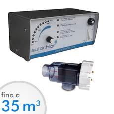 Elettrolisi del sale Autochlor RP fino a 35 mc acqua