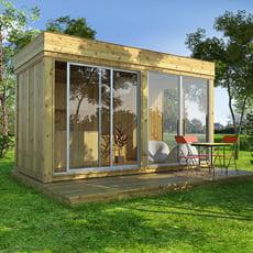 Gazebo da giardino Garden Cube SET E - 4x2m