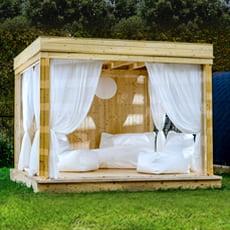 Gazebo da giardino Garden Cube SET A - 3x3m