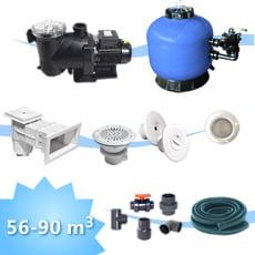 5 kit impianto piscina 90 piscine italia - Impianto filtrazione piscina prezzo ...