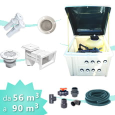 Kit impianto piscina 90 PLUS