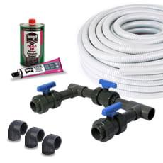 Kit per il collegamento BYPASS per ELETTROLISI del SALE/Pompa di calore