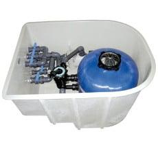 La filtrazione filtro piscina - Locale tecnico piscina ...