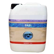 Ossigeno attivo liquido oasi 5 litri piscine italia - Ossigeno attivo per piscine ...