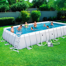 Piscineitalia piscina fuoriterra bestway power steel 732 for Pulitore piscina bestway