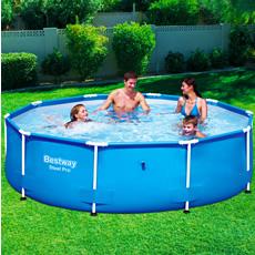 Piscineitalia piscina fuoriterra bestway steel pro 305 for Piscine bestway steel pro