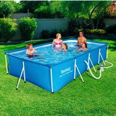 Piscineitalia piscina fuoriterra bestway steel pro 400 for Pulitore piscina bestway