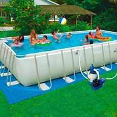 piscineitalia piscine fuori terra in acciaio e in pvc