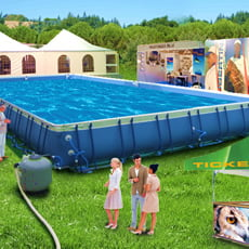 Piscine fuori terra tubolari laguna piscine italia - Misure piscine fuori terra ...