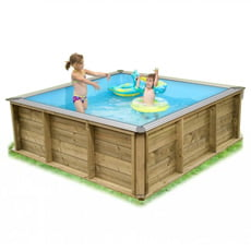Piscine bois 2x2 for Piscine coque carree 3x3