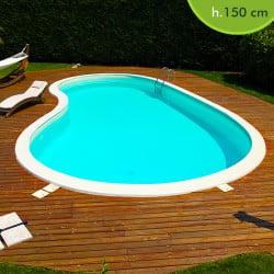 Piscineitalia kit piscine pannelli in acciaio for Piscine prefabbricate interrate prezzi