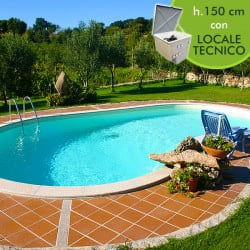 Kit piscine interrate in pannelli d 39 acciaio futura piscine italia - Piscina interrata vetroresina ...