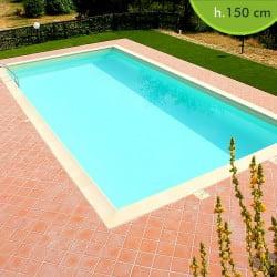 Kit piscine interrate in pannelli d 39 acciaio futura piscine italia - Piscina interrata costi ...