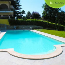 Piscineitalia kit piscine pannelli in acciaio - Prezzo piscina interrata ...