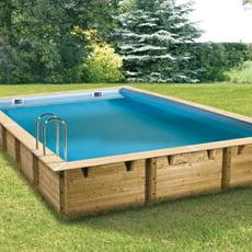 piscineitalia piscina fuori terra in legno jardin deluxe 850