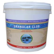 3 cloro granulare 25 kg for Piscina 5x3 fuori terra