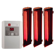 SET Lampade a infrarossi - GRUPPO A