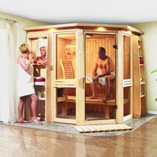 Sauna finlandese in legno nordico Dalila 1