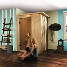 Sauna finlandese in legno nordico Lena