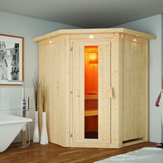Sauna finlandese Letizia 68 mm