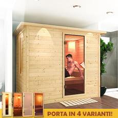 Sauna finlandese Fiordaliso 40 mm