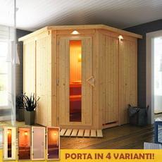 Sauna finlandese Gelsomina 68 mm