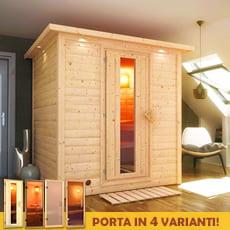 Sauna finlandese Melissa 40 mm