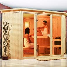 Sauna finlandese Rosa 2 - 68 mm