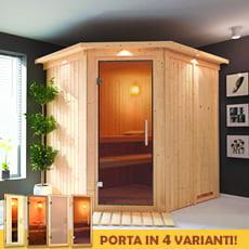 Sauna finlandese Serena 68 mm