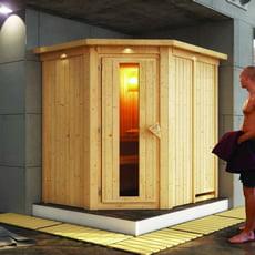 Sauna finlandese Tina 68 mm