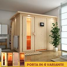 Sauna finlandese in legno nordico Eleonora