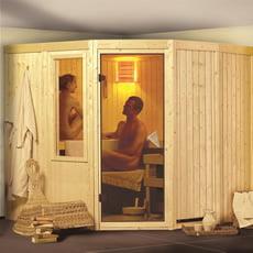 Sauna finlandese in legno nordico SASHA